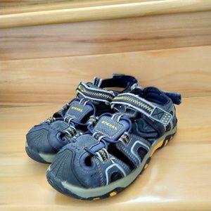 Sperry kids boys sandals size 4